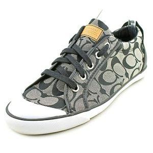 💕Coach jaquared logo barrett Sneakers